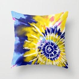 Sea*Sun Tie Throw Pillow