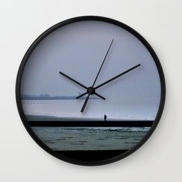Mists over Minnis Bay Wall Clock