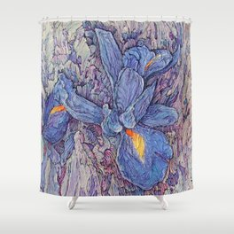 A Song About Iris #3 Shower Curtain