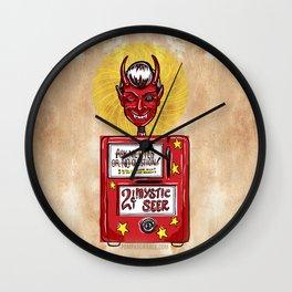 Twilight Zone Mystic Seer Wall Clock