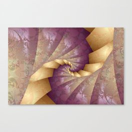 Origami Tenderness Canvas Print