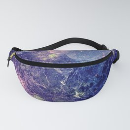Galaxy Mountains : Deep Pastels Fanny Pack
