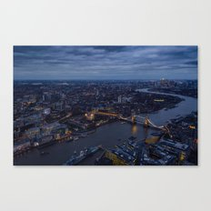Brige Tower In London Canvas Print