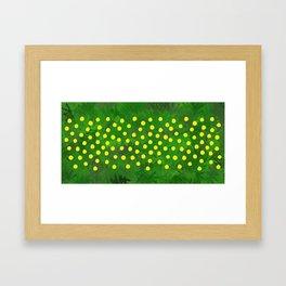 Flower Dandelion (rectangular) Framed Art Print