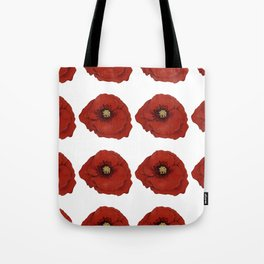 I Adore Poppies Tote Bag