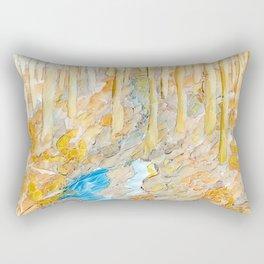 Eno River #28 Rectangular Pillow