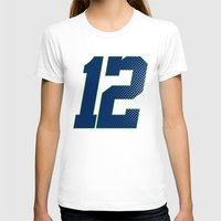 seahawks T-shirts featuring 12 SEATTLE by FanCity