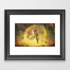 You Just Kissed Yourself a Princess Framed Art Print