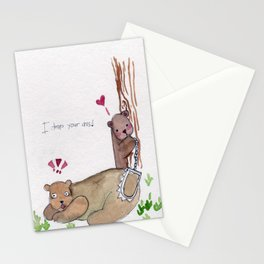 I trap your ass Stationery Cards