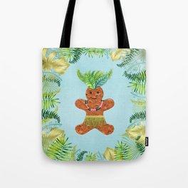 Tropical Gingerbread Tote Bag