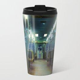 Ghost Train Metal Travel Mug