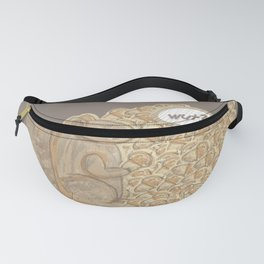 chip! brown Fanny Pack