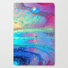 Neon Melt Cutting Board