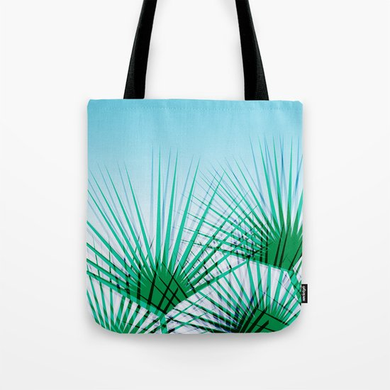 Airhead - memphis throwback retro vintage ombre blue palm springs socal california dreamer pop art Tote Bag