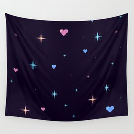 atmospheric love Wall Tapestry