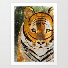 Tiger 2 Art Print