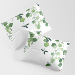 Eucalyptus Watercolor 2  Pillow Sham