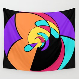 2D - abstraction -1a- Wall Tapestry