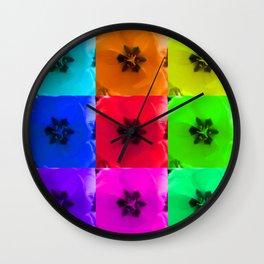 Tulip x9 - II Wall Clock