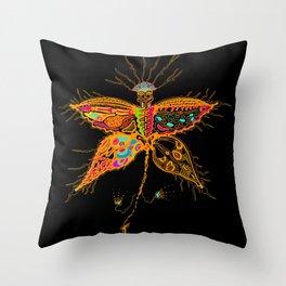 Butterfly Spirit Throw Pillow