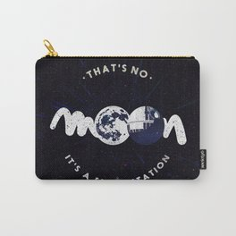 That's no moon. It's a space station v2 Carry-All Pouch