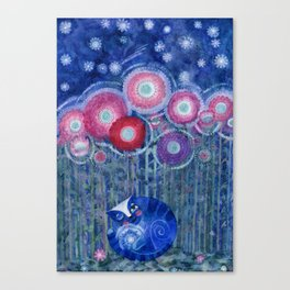 autumn stars Canvas Print