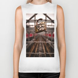 Symmetry on Lock Biker Tank