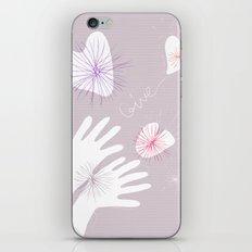 GIVE! iPhone Skin