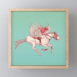 PEGASUS Framed Mini Art Print