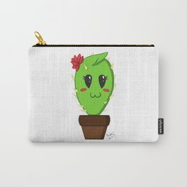 Unfortunate relationship: cute cactus black symbol Carry-All Pouch