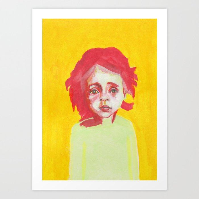 Les petites filles I.12 Art Print