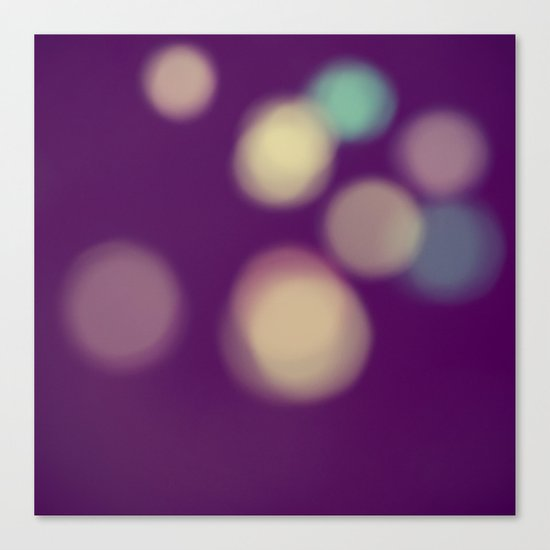 Balls of Light Canvas Print