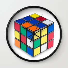 Magic Cube Wall Clock