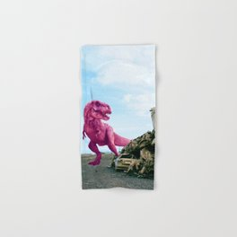 Pink and Gold Cars Hand & Bath Towel