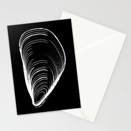mussel by midollo Stationery Cards