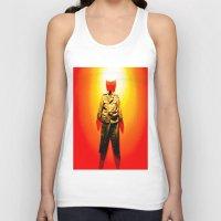 military Tank Tops featuring MILITARY DRESS by Alejandra Triana Muñoz (Alejandra Sweet