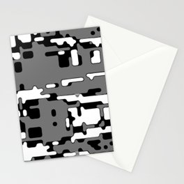 jitter, b&w 8 Stationery Cards