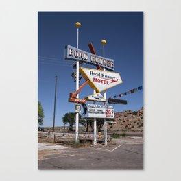 Road Runner Motel Canvas Print