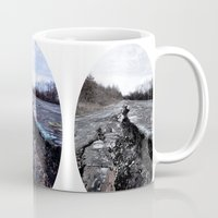 silent hill Mugs featuring Trial Through Silent Hill by Julie Maxwell