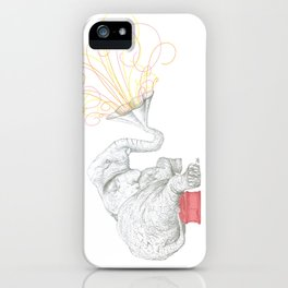 One Elephant Band iPhone Case