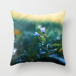 Submerge to a Voyage Throw Pillow