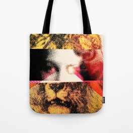 Lady Lion Tote Bag