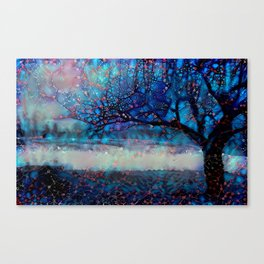 Redreaming Deep Dreamed Apple Tree Canvas Print