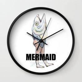 A Really Horrible Mermaid Wall Clock