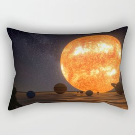 Solar System Art Rectangular Pillow