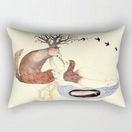 The Good Fight Rectangular Pillow