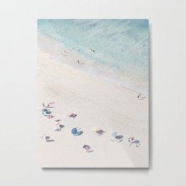 Beach Love 1  (part of a diptych) Art Print Metal Print