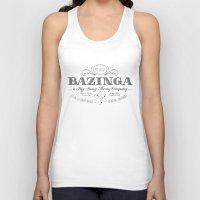 bazinga Tank Tops featuring Bazinga Vintage by Nxolab