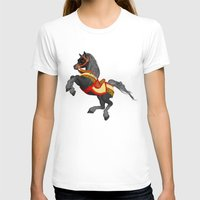 pony T-shirts featuring Grey Pony by Moonlake Designs
