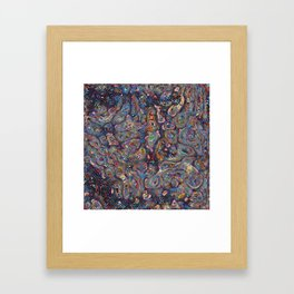 Ecosystems Psychedelia  Framed Art Print